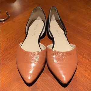 Franco Sarto two toned flats. Size 5.5